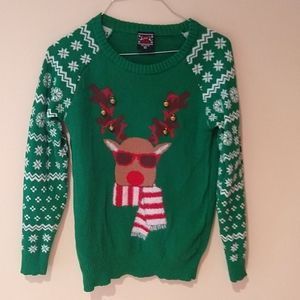 Holiday Reindeer XS Sweater by Well Worn